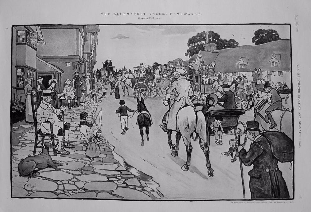 The Bluemarket Races. - Homewards. 1909