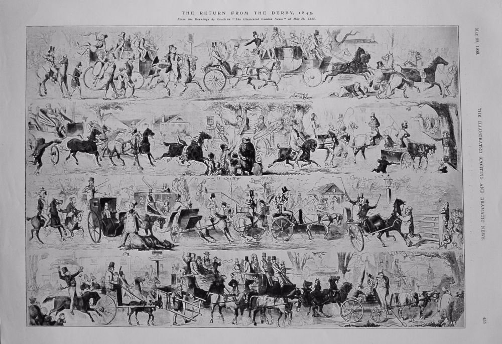 The Return from the Derby 1845.
