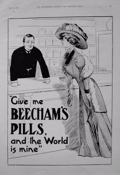 Beecham's Pills. May 1909.