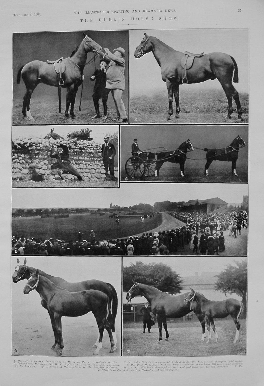 Dublin Horse Show. 1909