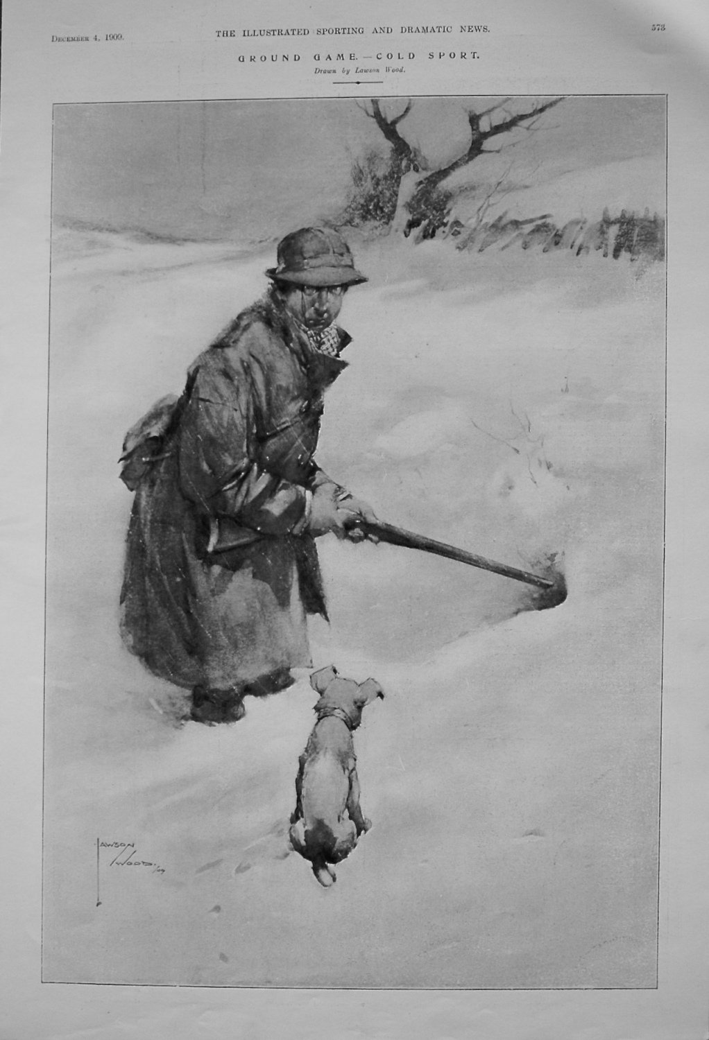 Ground Game. - Cold Sport. 1909