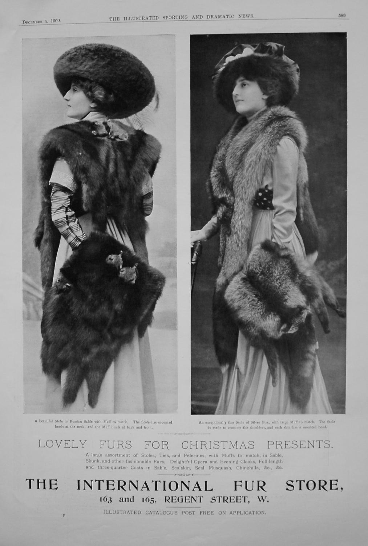 The International Fur Store. 1909