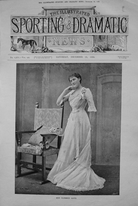 Miss Florence Lloyd. 1899