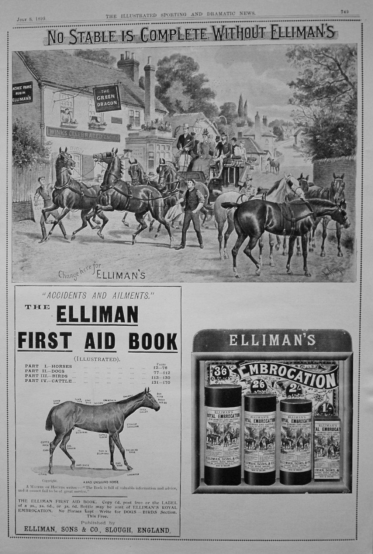 Elliman, Sons & Co. July 8th 1899.