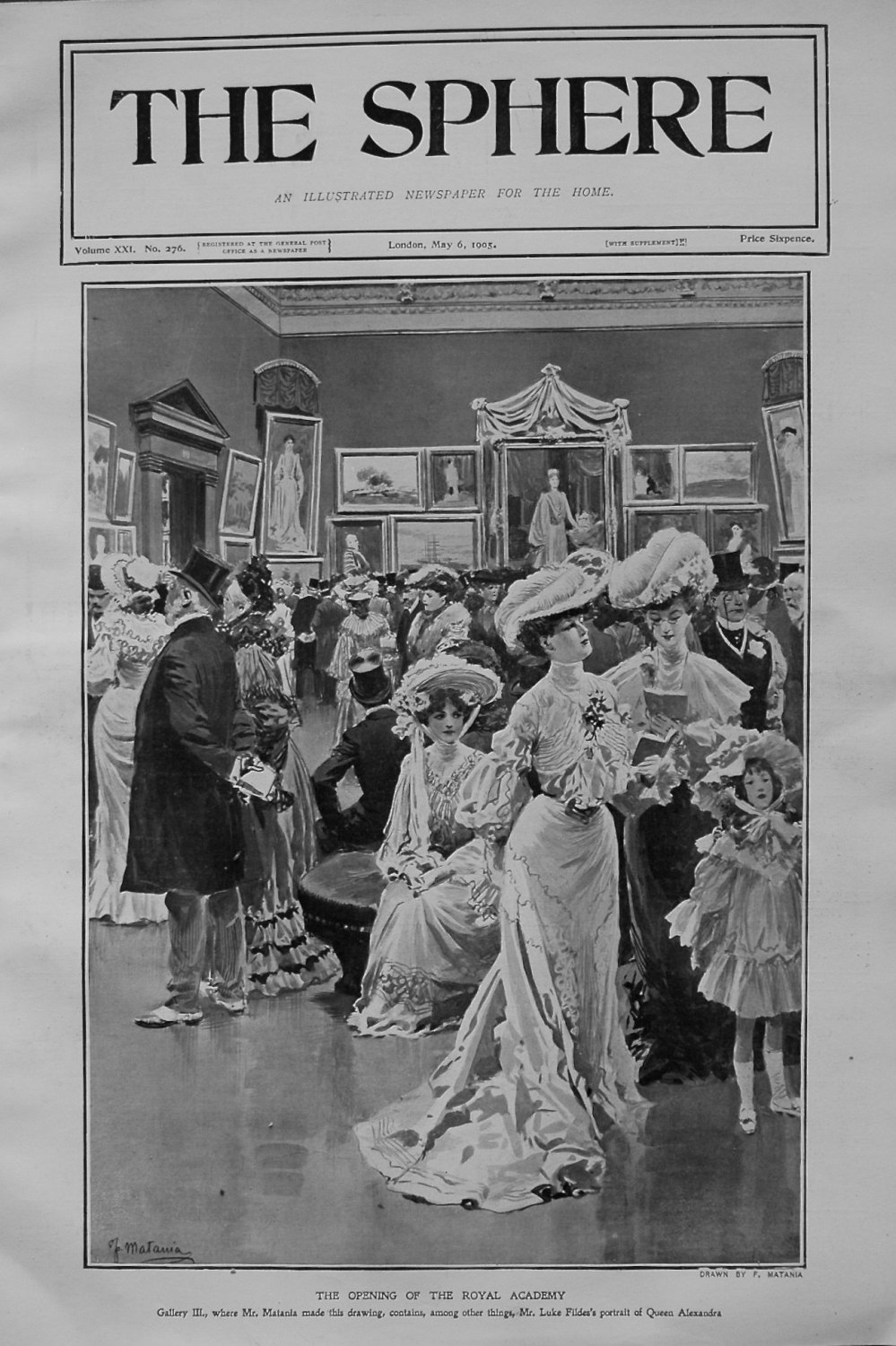 The Opening of the Royal Academy. 1905
