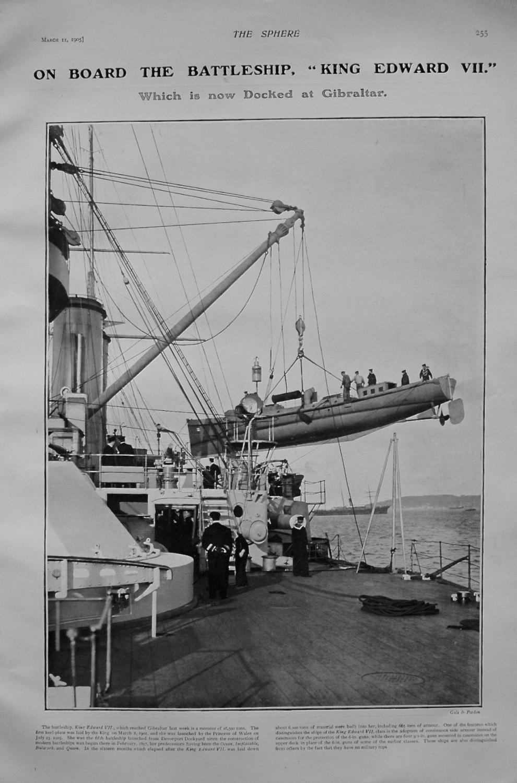 On board the Battleship,