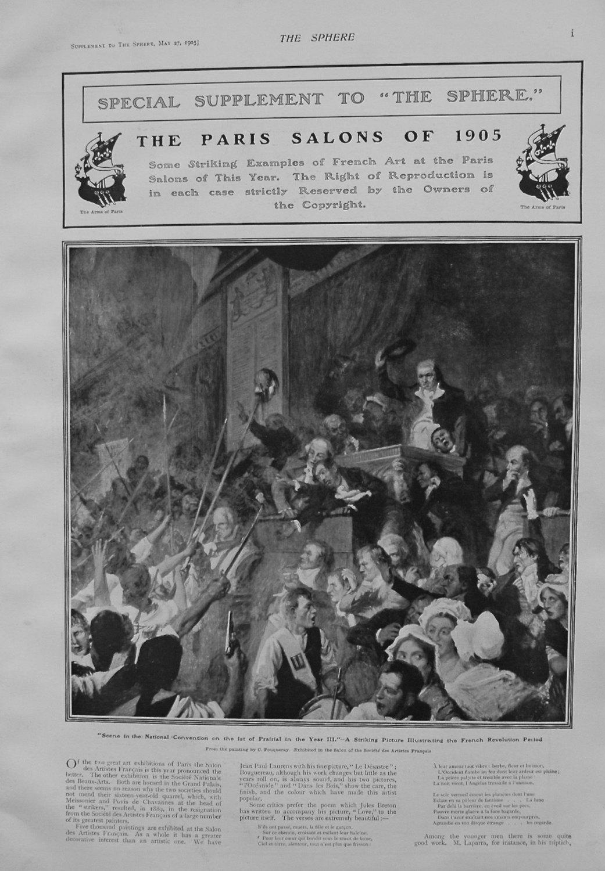 The Paris Salons of 1905.
