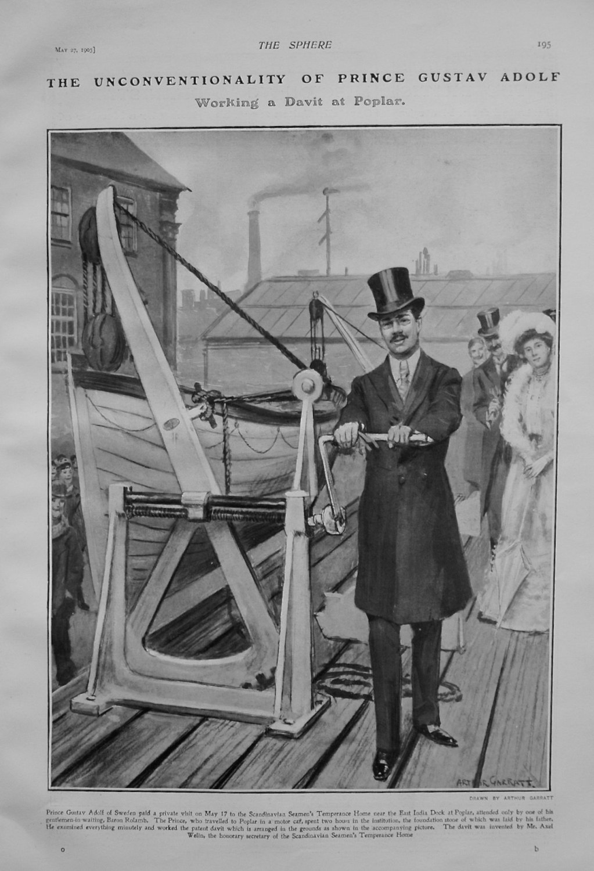 The Unconventionality of Prince Gustav Adolf. 1905.