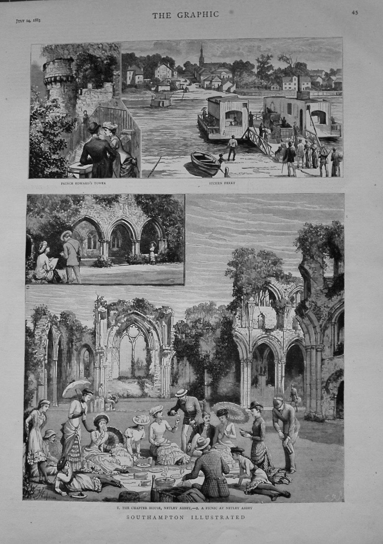 Southampton Illustrated. 1883