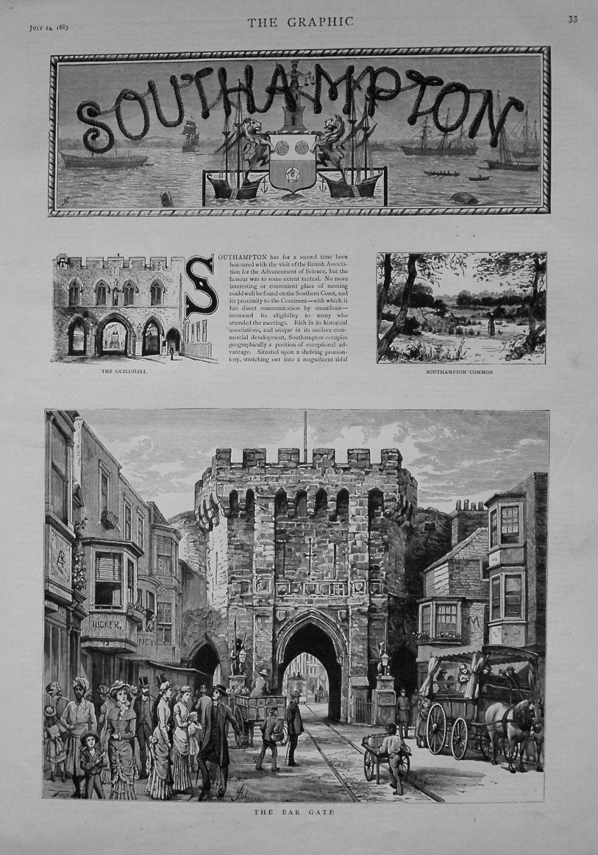 Southampton. 1883