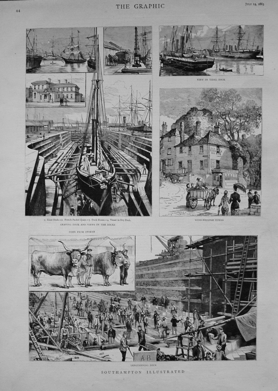 Southampton Illustrated. 1883.