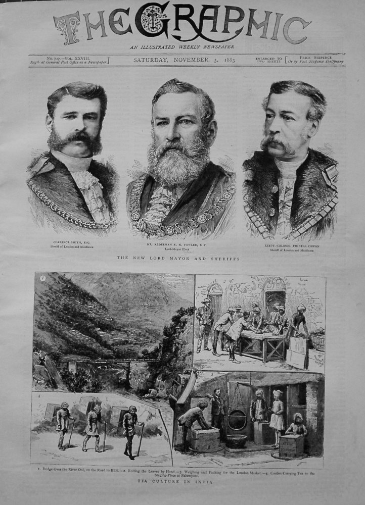 The Graphic, November 3rd 1883.