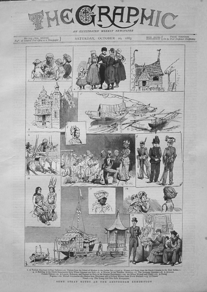 The Graphic, October 20th 1883.