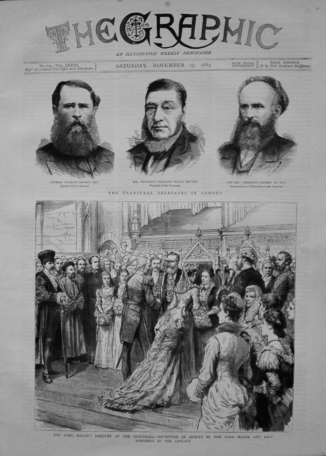 The Graphic, November 17th 1883.