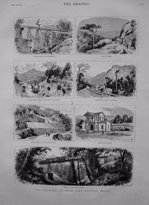 The Principe Do Gram Para Railway, Brazil. 1883