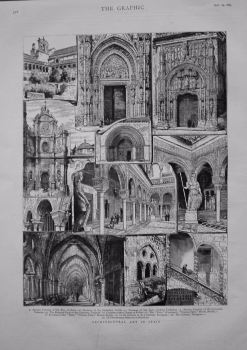 Architectural Art in Spain. 1883