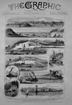 From the Pacific to the Atlantic Along the Route of the Panama Canal. 1883