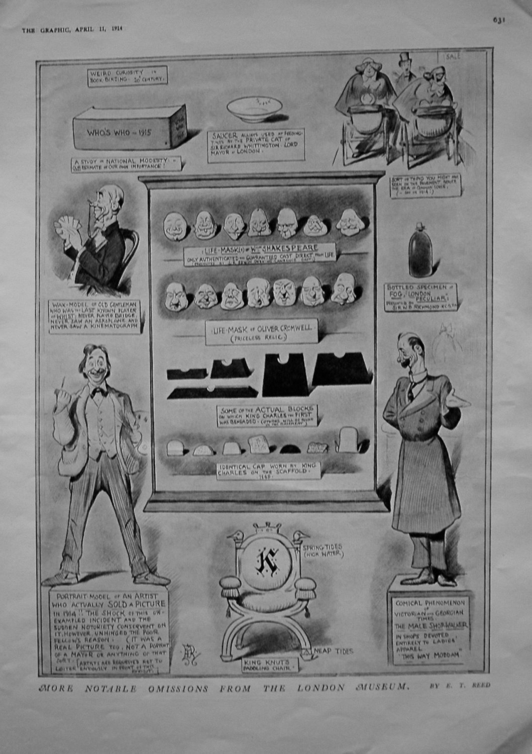 More Notable Omissions From The London Museum. 1914
