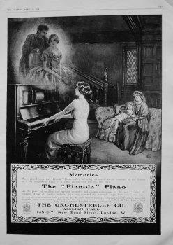 "The ""Pianola"" Piano. 1914"