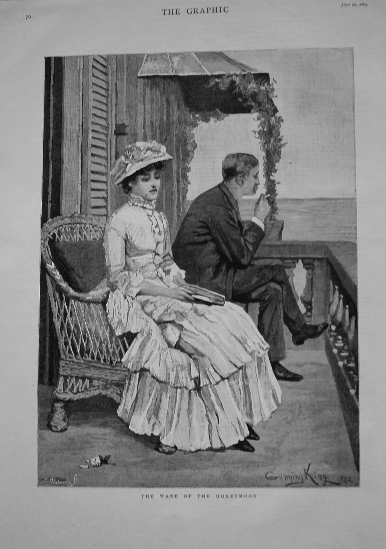 The Wane of the Honeymoon. 1883
