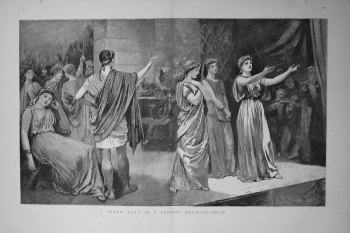 A Greek Play In A London Drawing-Room. 1883