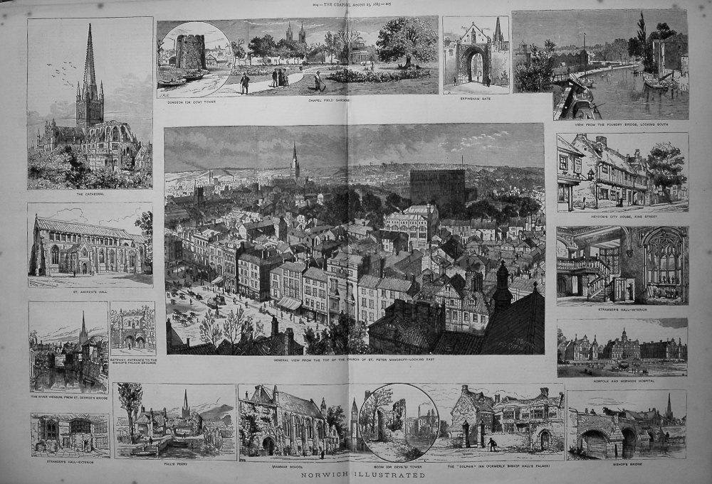 Norwich Illustrated. 1883.