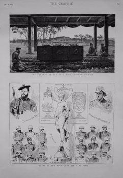 Notes at the Wimbledon Rifle Meeting. 1883.