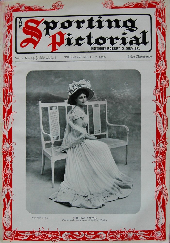 Sporting Pictorial. No. 23. April 7th 1908.