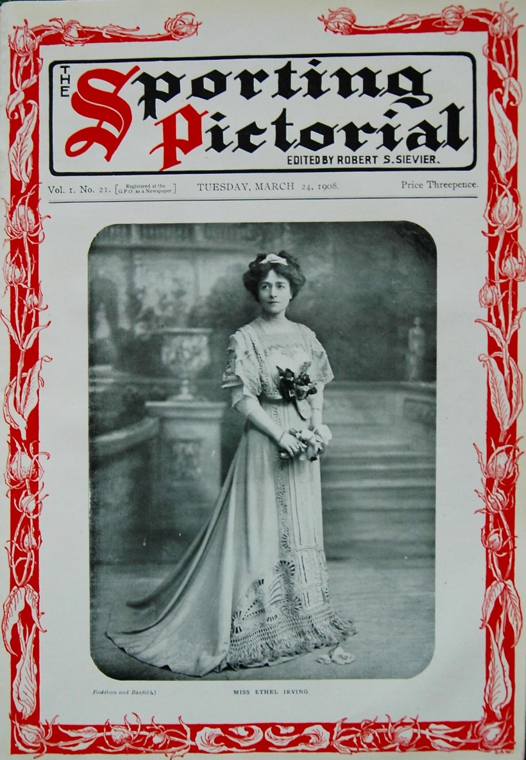 Sporting Pictorial. No. 21. March 24th. 1908.