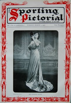 Sporting Pictorial. No. 18. March 3rd 1908.