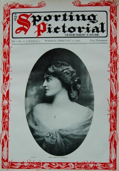 Sporting Pictorial. No. 17. February 25th 1908.