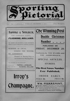 Sporting Pictorial. No. 7. December 17th 1907.