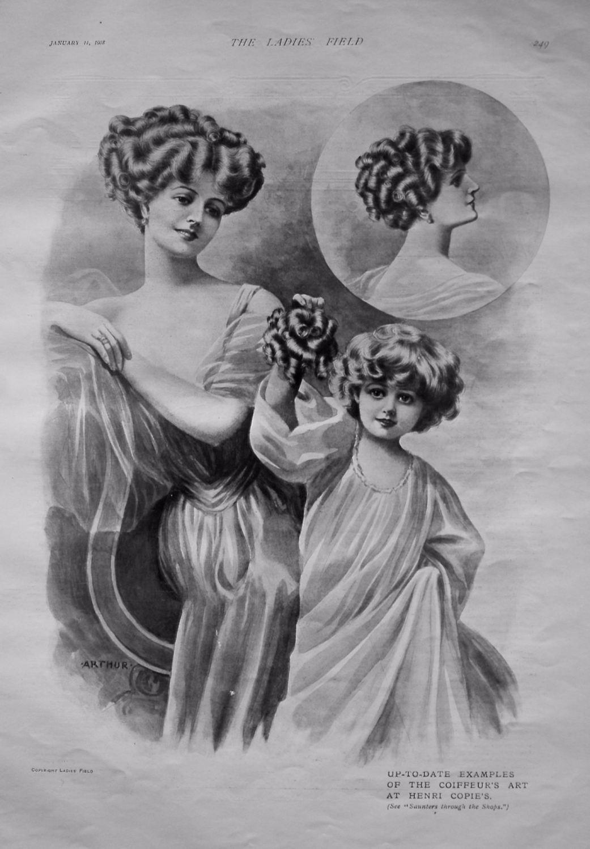Henri Copie's. 1908