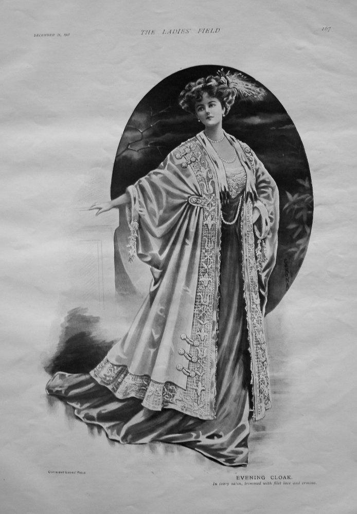 Evening Cloak. 1907.
