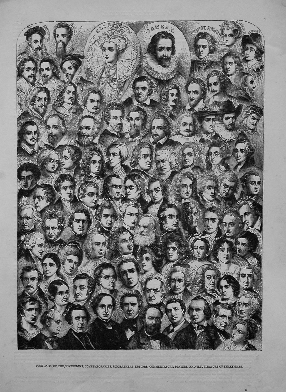 Portraits of the Sovereigns, Contemporaries, Biographers Editors, Commentat