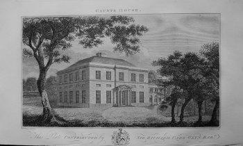 Gaunts House. Dorset 1868.