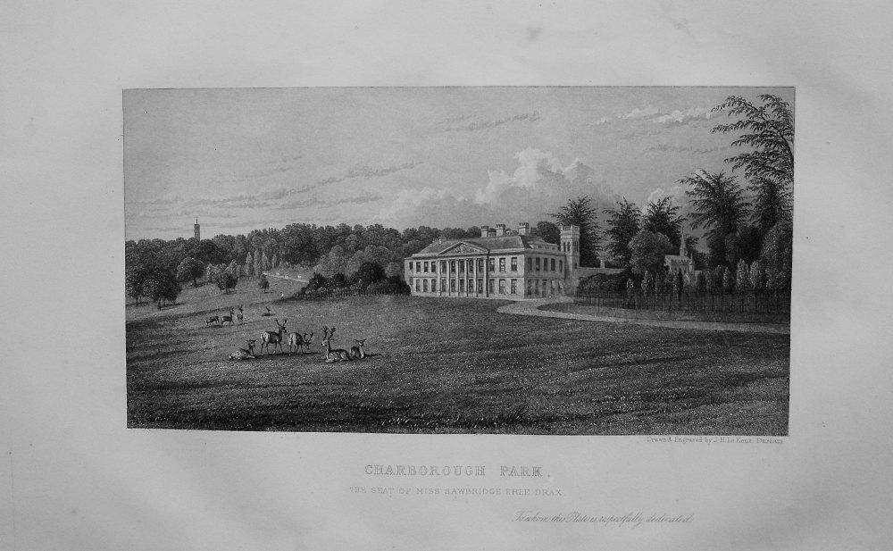 Charborough Park, the Seat of Miss Sawbridge Erle Drax. 1868