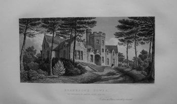 Branksome Tower, The Residence of Charles Packe, Esq. M.P.