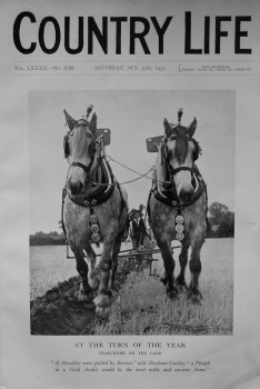 Country Life, October 30th 1937.