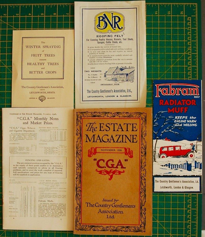 The Estate Magazine, November 1928.