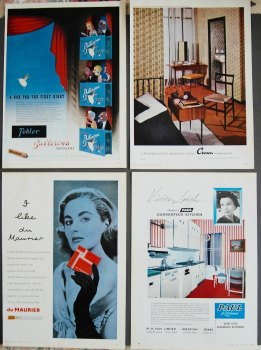 Colour Adverts 1958.