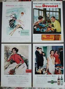 Colour Adverts, 1958.