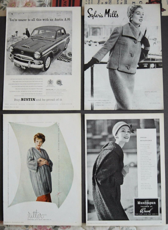 Adverts, 1958
