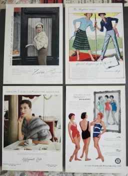 Adverts, 1958.