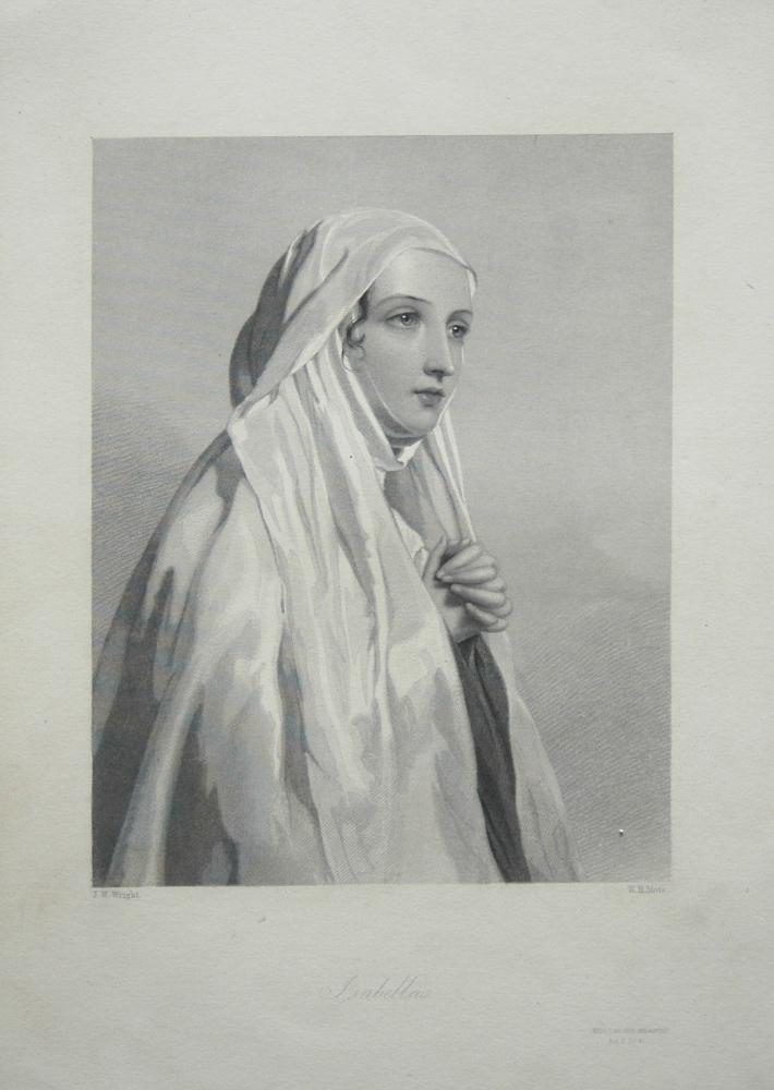 Isabella. 1860.