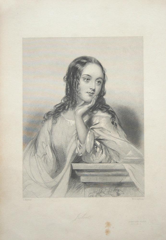 Juliet. 1860c.