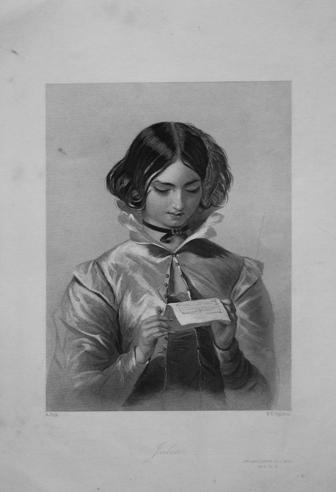 Julia. 1860c.
