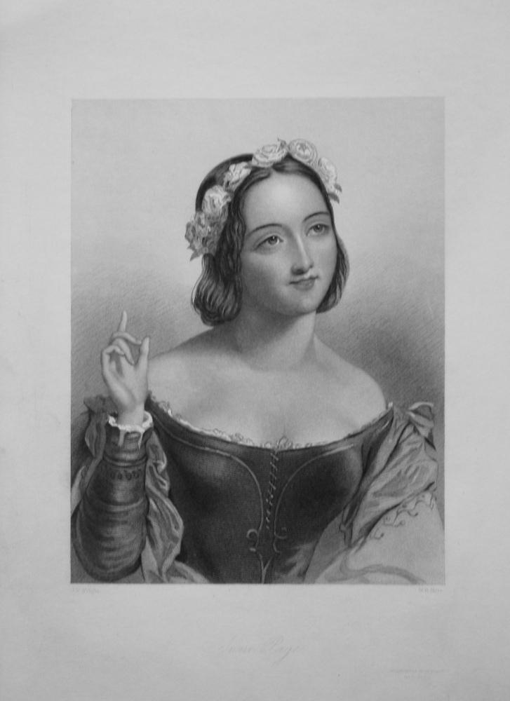 Anne Page. 1860.