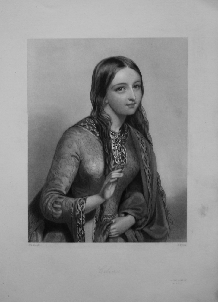 Celia. 1860.