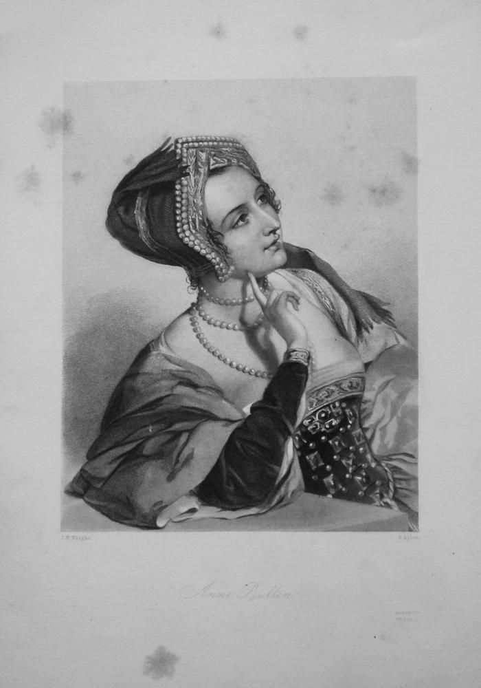 Anne Bullen. 1860.